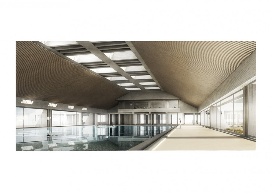 Swimming Pool - Oostende, in collaboration with Abascal Fernando